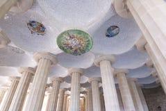 parc guell barcelona Стоковые Фотографии RF