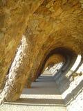 parc guell barcelona Стоковые Изображения