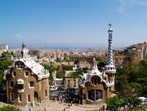 Parc Guell, Barcelona Fotografía de archivo libre de regalías