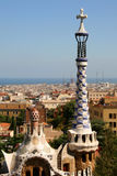 Parc Guell, Barcelona. Park Guell,  Barcelona, Catalunya, Spain Royalty Free Stock Photography