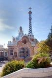 parc guell barcelona Стоковые Изображения RF