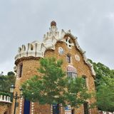 Parc Guell, Barcelona Lizenzfreie Stockfotografie