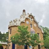 Parc Guell, Barcelona Stockfotografie