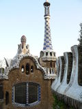 Parc Guell, Barcelona ( Catalonia ) Royalty Free Stock Photos