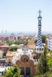 Parc Guell Barcelona Stock Photos