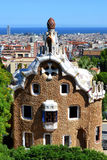 Parc Guell in Barcelona Stock Photos