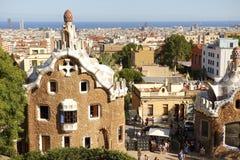 Parc Guell, Barcelona, España Imagen de archivo