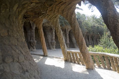 Parc Guell, Barcelona Stock Photography
