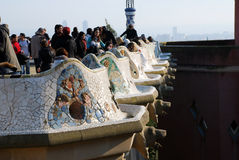 Parc Guell Stock Photos