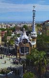 Parc Guell Barcelona Spain. Gateway to Parc Guell Barcelona Spain Royalty Free Stock Images