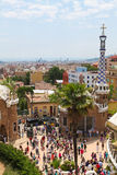 Parc Guell Royalty Free Stock Images