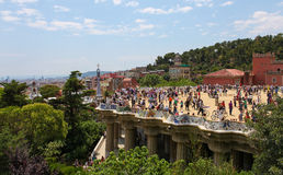 Parc Guell Stock Image