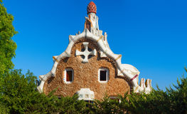 Parc Guell Barcelone, Espagne Image stock