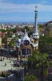 Parc Guell Barcelone Espagne Images libres de droits