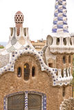 Parc guell door Gaudi Stock Foto's