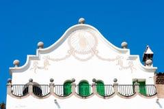 Parc Guell, Gaudi. Barcelona Imagen de archivo