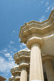 Parc Guell made by  Antoni Gaudi - Barcelona Royalty Free Stock Photo