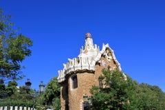 Parc Guell w Barcelona, Hiszpania obraz royalty free