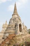 Parc historique d'Ayuthaya Images libres de droits