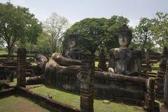 Parc historique de Kamphaeng Phet dans Kamphaeng Phet, Thaïlande Image stock