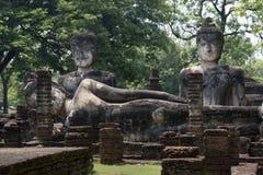 Parc historique de Kamphaeng Phet dans Kamphaeng Phet, Thaïlande Photographie stock
