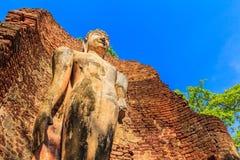 Parc historique de Kamphaeng Phet en Thaïlande Images stock