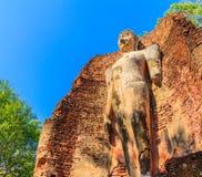 Parc historique de Kamphaeng Phet en Thaïlande Photos stock