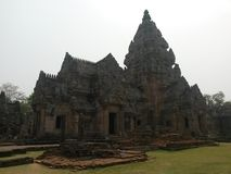 Parc historique de Prasat Phanomrung Images libres de droits