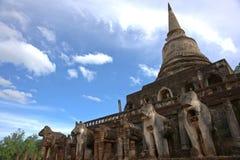 Parc historique de SriSatchanalai Image libre de droits