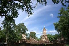 Parc historique de SriSatchanalai Photographie stock libre de droits
