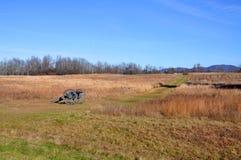 Parc historique national de Saratoga, New York, Etats-Unis images libres de droits