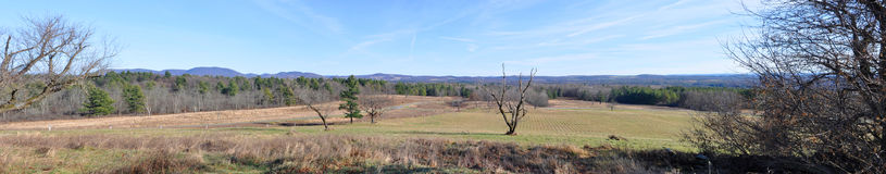 Parc historique national de Saratoga, New York, Etats-Unis Images stock