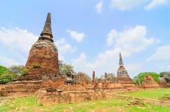 Parc historique Thaïlande d'Ayuthaya Image stock