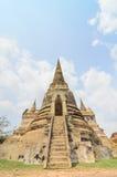 Parc historique Thaïlande d'Ayuthaya Photo libre de droits