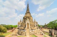 Parc historique Thaïlande d'Ayuthaya Photographie stock