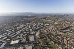 Parc industriel et maisons Ventura County California Ae de Camarillo Photos libres de droits