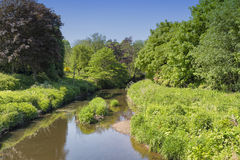 Parc Irvine d'Eglinton de l'eau de Lugton Images libres de droits
