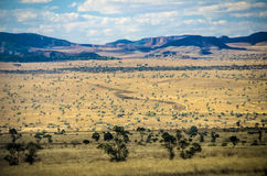 Parc Isalo national, Madagascar photographie stock