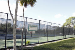 Parc Jimmy Evert Tennis Center de vacances Photos libres de droits