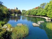 Parc Lafontaine en Montreal Imágenes de archivo libres de regalías