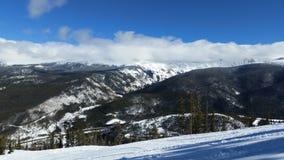 Parc le Colorado d'hiver photographie stock libre de droits