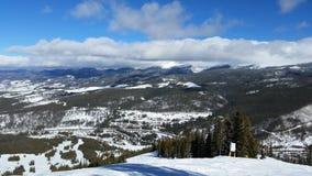 Parc le Colorado d'hiver images stock