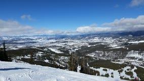 Parc le Colorado d'hiver image libre de droits
