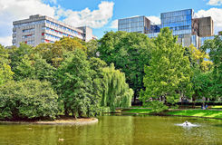 Parc Leopold in Brussels, Belgium Stock Photography