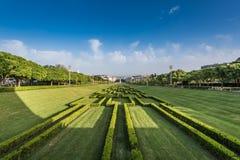 Parc Lisbonne d'Eduardo VII Photographie stock libre de droits