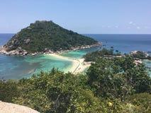 Parc marin Koh Nangyuan Islands de la Thaïlande Image stock