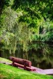 Parc Mezhyhirya - résidence privée d'ex-président Victor Yanukovich images libres de droits