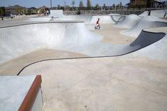 Parc moderne gentil Frisco le Texas de patin Images libres de droits