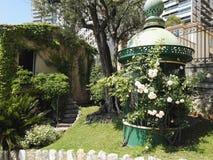 Parc in Monaco lizenzfreies stockfoto