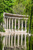 Parc monceau columns paris city France Stock Image